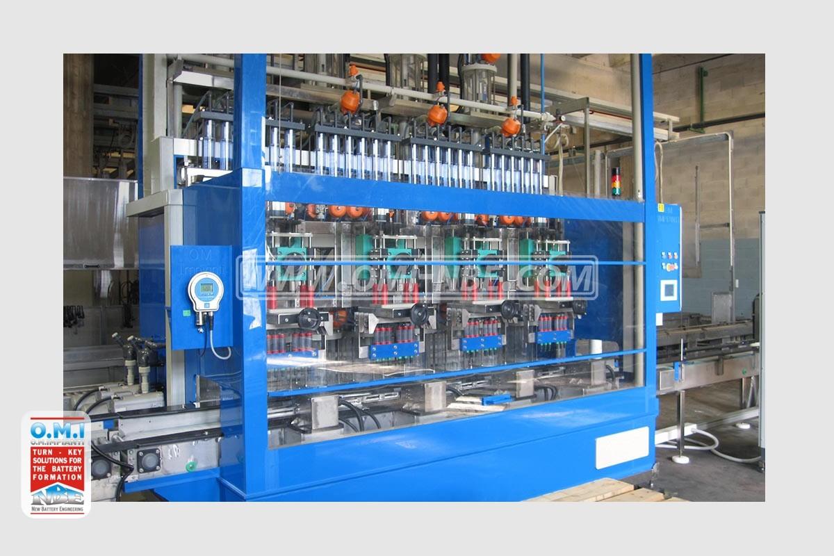 volumetric filling station